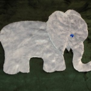 Elephant Applique Blanket